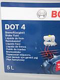 Тормозная жидкость Bosch DOT4, 5л, фото 4