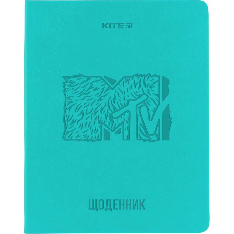 Дневник школьный, мягкий переплёт, PU, MTV