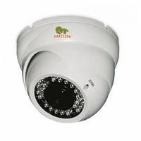 Купольная варифокальная AHD камера Partizan CDM-VF37H-IR HD v3.1, 1.3 Мп