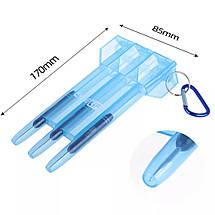 Футляр для дротиков пластиковый, фото 3