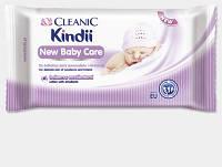 Влажные салфетки Cleanic Kindii New Baby Care