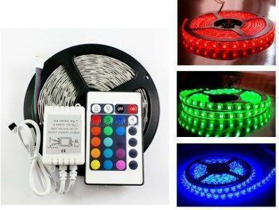 ✨ RGB лента светодиодная LED 5050, пульт дистанционного управления, контроллер, блок питания  ✨