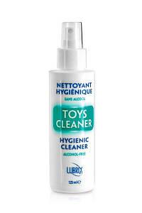 Антибактериальный спрей Toys Cleaner Lubrix 125ml