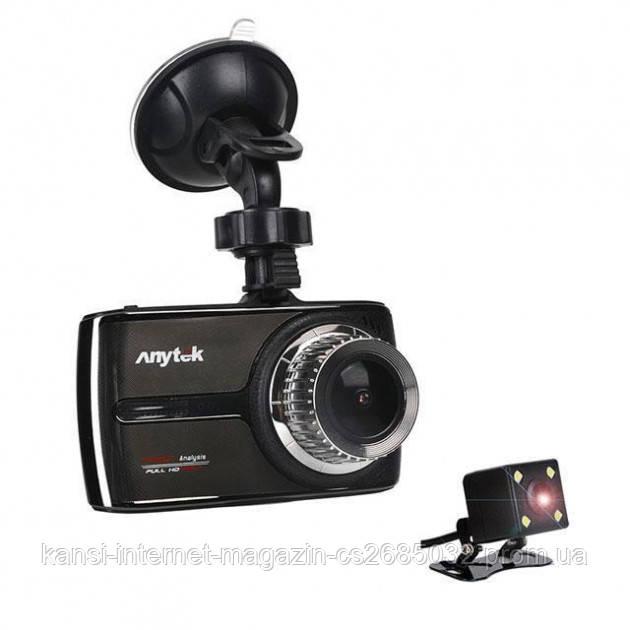 Відеореєстратор Car DVR Anytek G66 екран 3.5