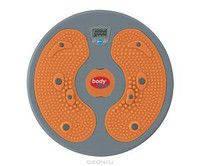 Спортивный диск здоровья массажный для похудения оранжевый