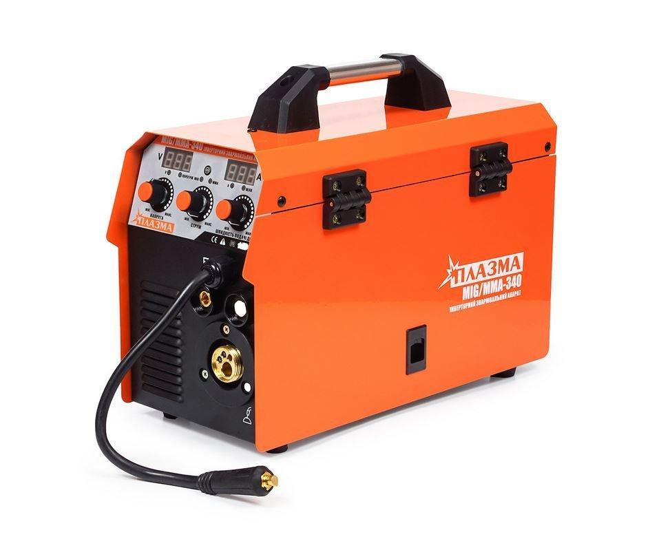 Зварювальний інверторний напівавтомат Плазма MIG/MMA 340