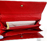 Женский красный лаковый кошелек Chanel на кнопках (натуральная кожа), фото 3