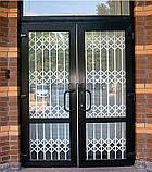 Раздвижные решетки на двери Шир.2200*Выс2200мм для дома, фото 4