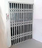 Раздвижные решетки на двери Шир.2200*Выс2200мм для дома, фото 5
