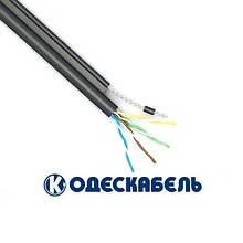 Lan-кабель экран. для наружной прокладки с тросом FTP cat.5e КППЭт-ВП (100) 4x2x0,51 (Одескабель)