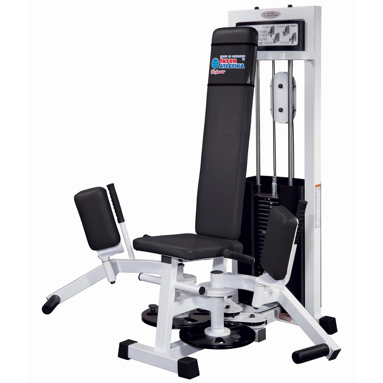 Тренажер для привідних і відвідних м'язів стегна InterAtletikGym ST109 (реставрований)