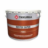 Противокорозійний грунт Ростекс супер (Тікурілла) 3л червоно-коричнева