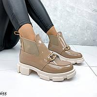 Крутые ботинки Челси на тракторной подошве (разные цвета)