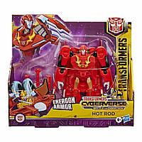 Робот-трансформер Hasbro Transformers Cyberverse Ultra Hot Rod (E1886/E7107)