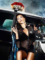 Игровой костюм «Сексапильный инспектор» 5-PIECE POLICE UNIFORM, S/M, M/L