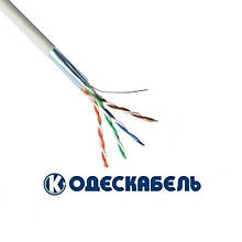 Lan-кабель екранований OK-net КПВЭ-ВП (200) 4x2x0,48 (F/UTP cat.5e) (Одескабель)