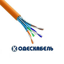 Lan-кабель экранированный OK-net  КПпВОнг-HF-ВПЭ (500) 4x2x0,56 (U/FTP cat.6a LSOH) (Одескабель)