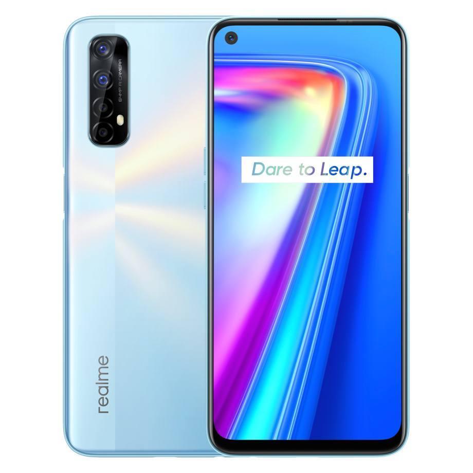 Смартфон Realme 7 5G 6/128GB Global Silver Dimensty 800U  5000мАч
