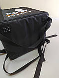Сумка для доставки їжі з кріпленнями на багажник. Термосумка для доставки страв, суші, напоїв, фото 6