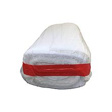 Вафельное полотенце в рулоне, 145 г/м2 плотность, 60 м, ткань вафельная,  шт. (арт.0002)