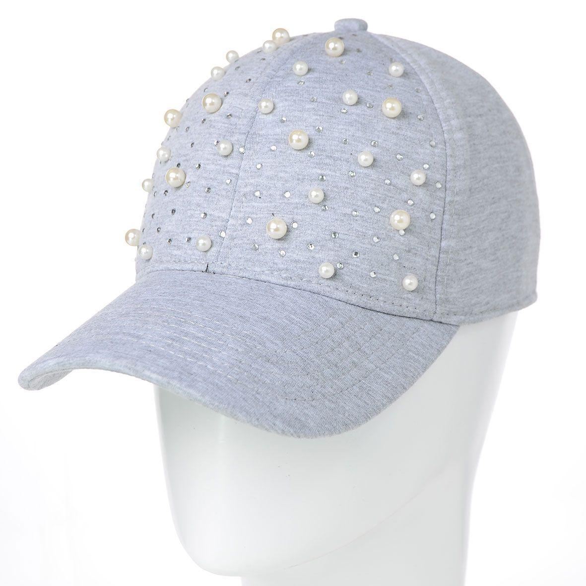 Бейсболка BDH18055 светло-серый