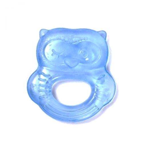 """Прорезыватель для зубов, с водой """"Сова"""" (синий) LI 318"""
