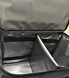 Сумка для доставки їжі з кріпленнями на багажник. Термосумка для доставки страв, суші, напоїв, фото 7