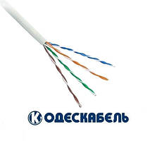 Lan-кабель OK-net  КПВ-ВП (100) 4x2x0,48 (UTP cat.5e) (Одескабель)