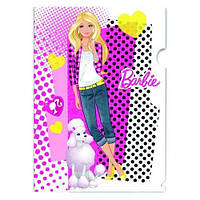 "Уголок пл. А4 ""Kite"" B11-201WK ""Barbie"" 180мк"