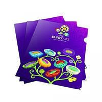 """Уголок пл. А4 """"Economix"""" """"EURO-2012"""" UEF5359-1 фиол."""