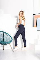 Женские спортивные штаны 5804 темно-синие, фото 2