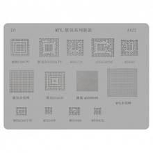 BGA-трафарет A422 MTK, SC6825C, SC6820, SC6285A, Q309B849, MTK6260CPU, MT6582, MT6572A, MT6168A, MT6167A,