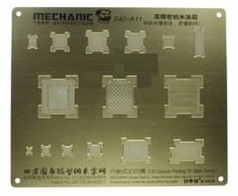 3D BGA-трафарет A11 для Apple iPhone 8, iPhone 8 Plus, iPhone X, Mechanic