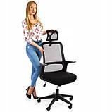 Ергономічне офісне крісло з функцією гойдання: Ergosolid AMO-90, фото 4