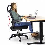 Ергономічне офісне крісло з функцією гойдання: Ergosolid AMO-90, фото 6