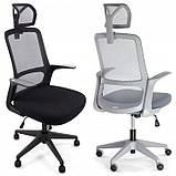 Ергономічне офісне крісло з функцією гойдання: Ergosolid AMO-90, фото 2