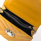 Сумка Женская Классическая иск-кожа FASHION 2-011 686 yellow, фото 4