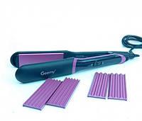 Утюжок- гофре Hair Straightener GM 2859 3in1 Gemei