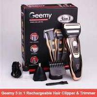Электрическая бритва с триммером для бороды Gemei GM-595