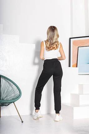 Женские спортивные штаны 804 черный, фото 2