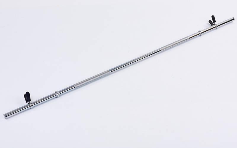 Гриф (l-1,52м, d-25мм, вес 5,9кг, замок пружинный) для штанги Классический прямой RB-60T