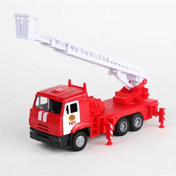 Игрушечная машинка металлическая грузовик КАМАЗ ПОЖАРНАЯ Technopark (CT12-457-6WB)