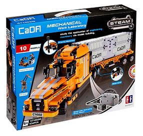 Конструктор CaDa C71002W Трейлер. Будтехніка. 10в1, 634 деталі