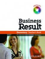 Business Result Elementary 2E: Teacher's Book & DVD Pack