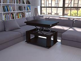 Журнальный стол книжка столик трансформер раскладной Флешника ЖС Ника 19, фото 2