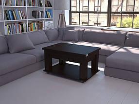 Журнальный стол книжка столик трансформер раскладной Флешника ЖС Ника 19, фото 3