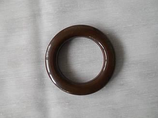 Люверс для штор пластик коричневый (3.5*5.5 см)