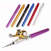 Мини удочка - ручка Fish-Pen с катушкой FisherGoMan