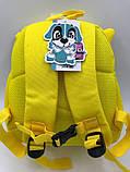 Детские текстильные рюкзаки для мальчиков и девочек 23*26*10 см, фото 5