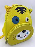 Детские текстильные рюкзаки для мальчиков и девочек 23*26*10 см, фото 6